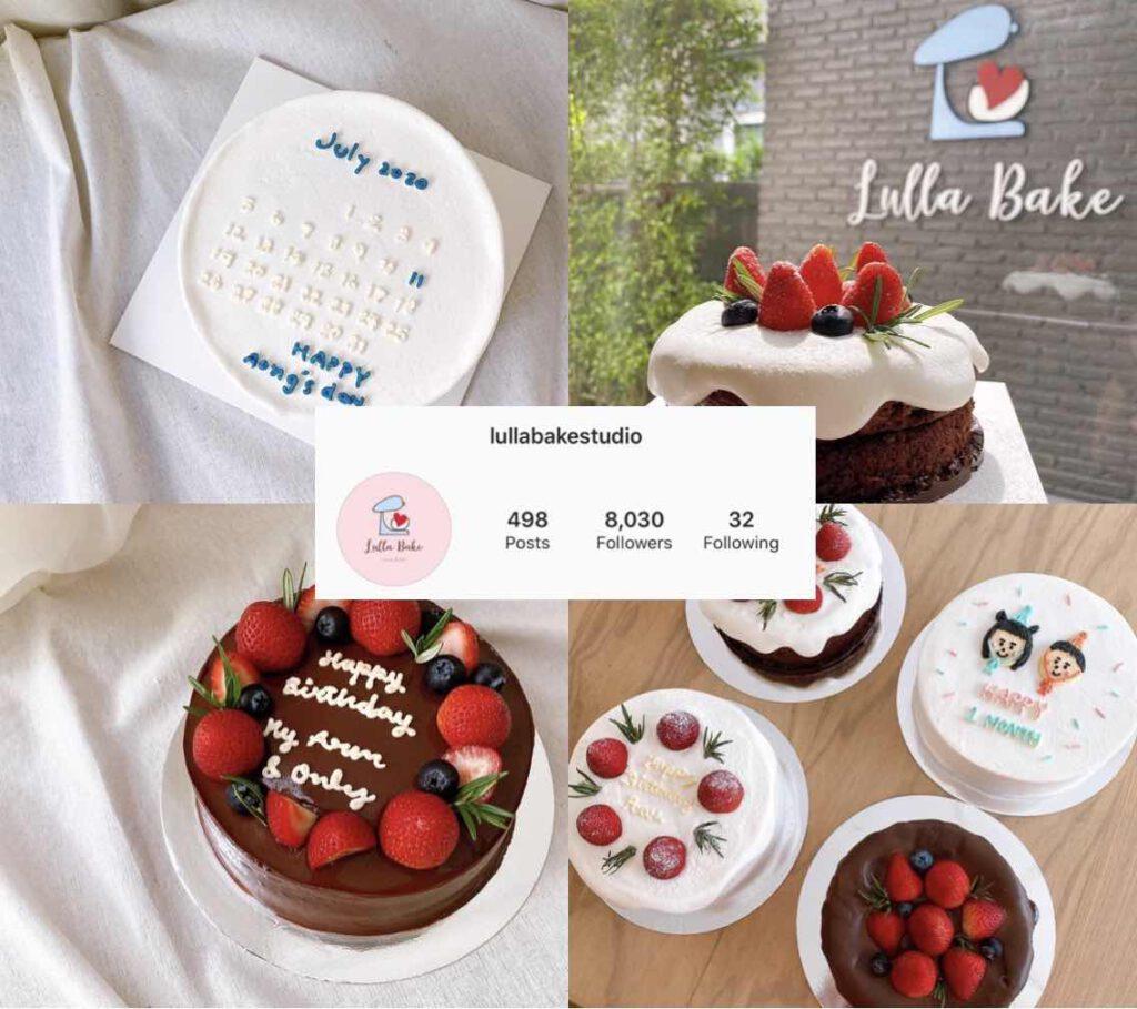 ร้านเค้กใน Instagram