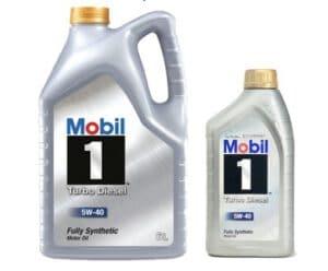 2. น้ำมันเครื่อง Mobil 1 Turbo Diesel