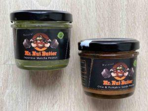 7. รีวิว เนยถั่ว ยี่ห้อ Mr. Nut Butter รสชาเขียว, รสเมล็ดเจียผสมฟักทอง