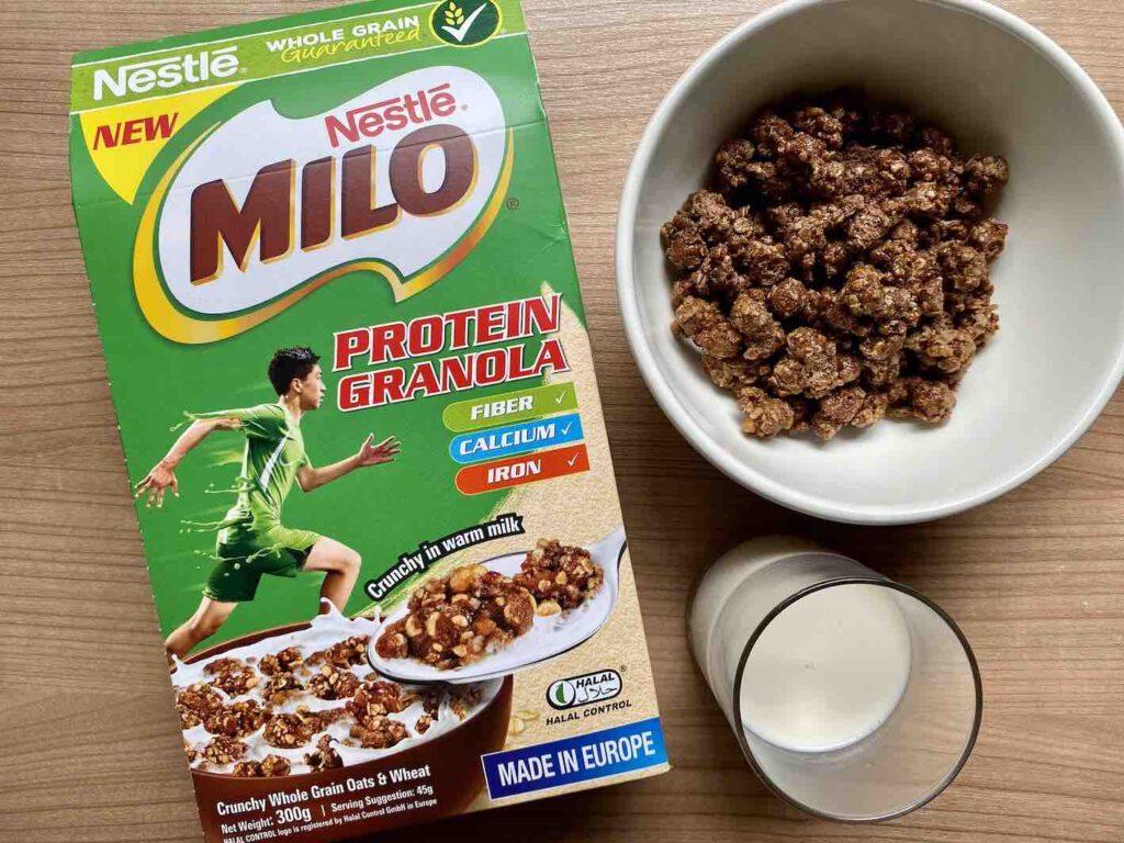 5. กราโนล่า Nestle MILO