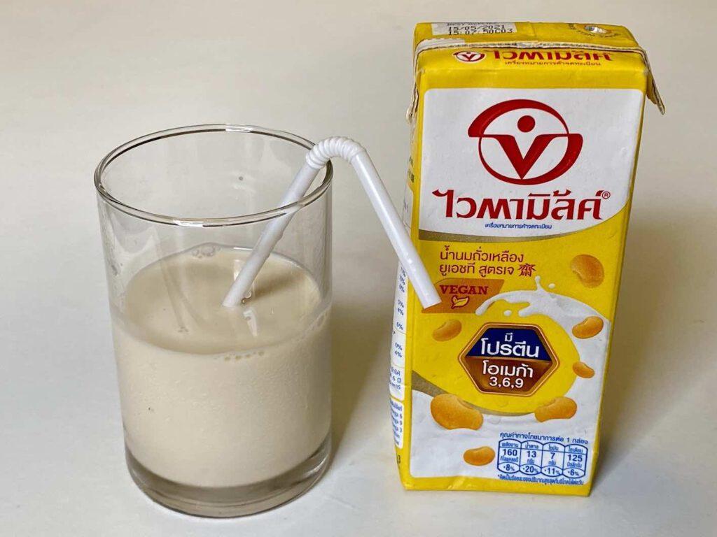 4.3 นมถั่วเหลือง ไวตามิ้ลค์ สูตรเจ