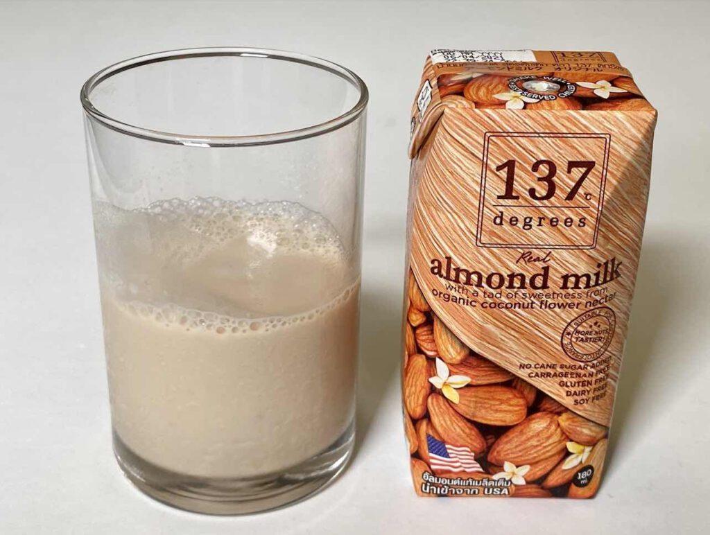 3.1 นมอัลมอนด์ 137 ดีกรี สูตรดั้งเดิม เสริมน้ำจากดอกมะพร้าว