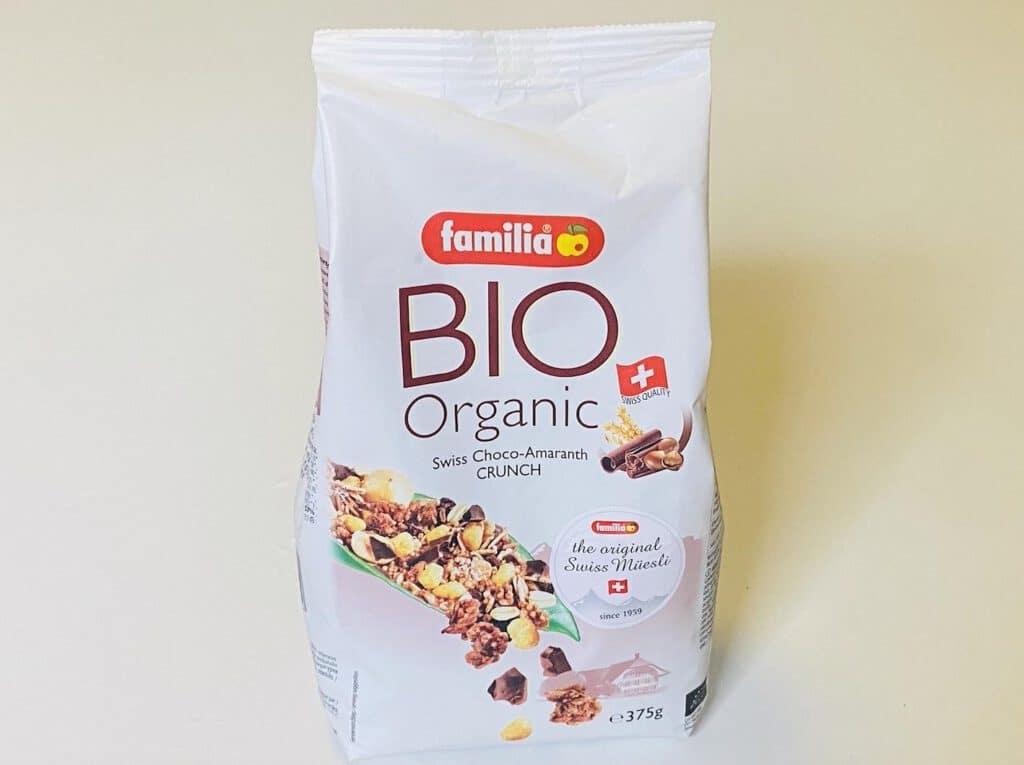 2.3 มูสลี่ BIO Organic Swiss Choco-Amaranth CRUNCH