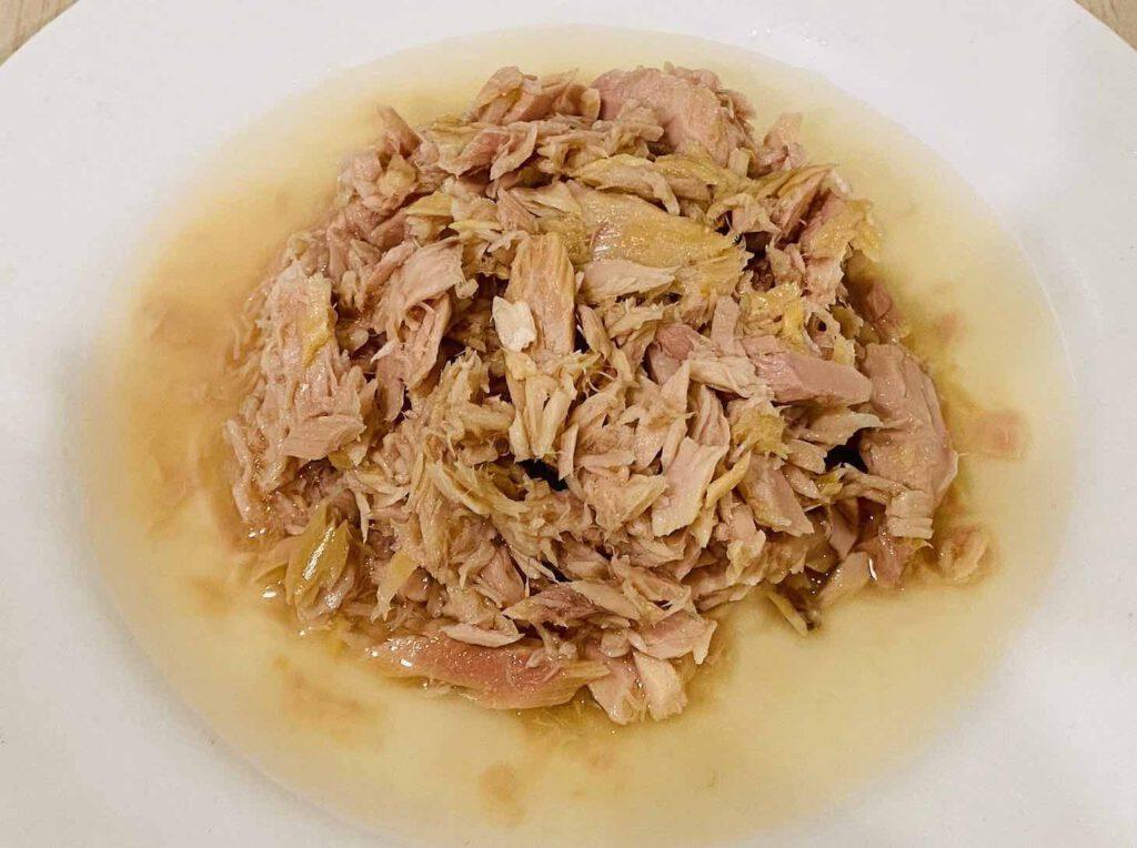 ทูน่าแซนวิชในน้ำแร่
