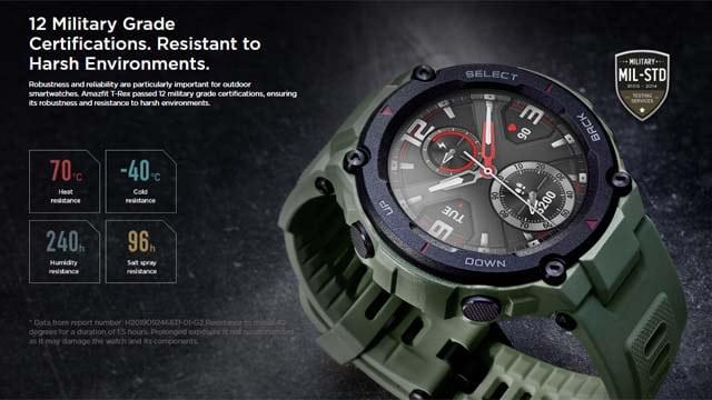 นาฬิกา Xiaomi Amazfit T-Rex