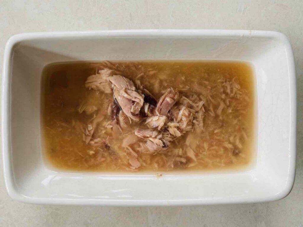 อาหารเปียกแมว ยี่ห้อ NEKKO สูตรปลาทูน่าหน้าปลาแซลมอนในน้ำเกรวี่