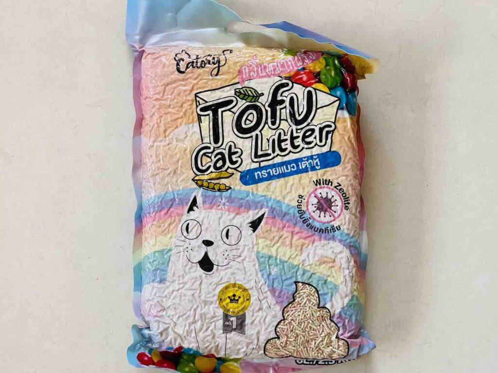 2. ยี่ห้อ Catory Tofu Cat Litter ทรายแมวเต้าหู้