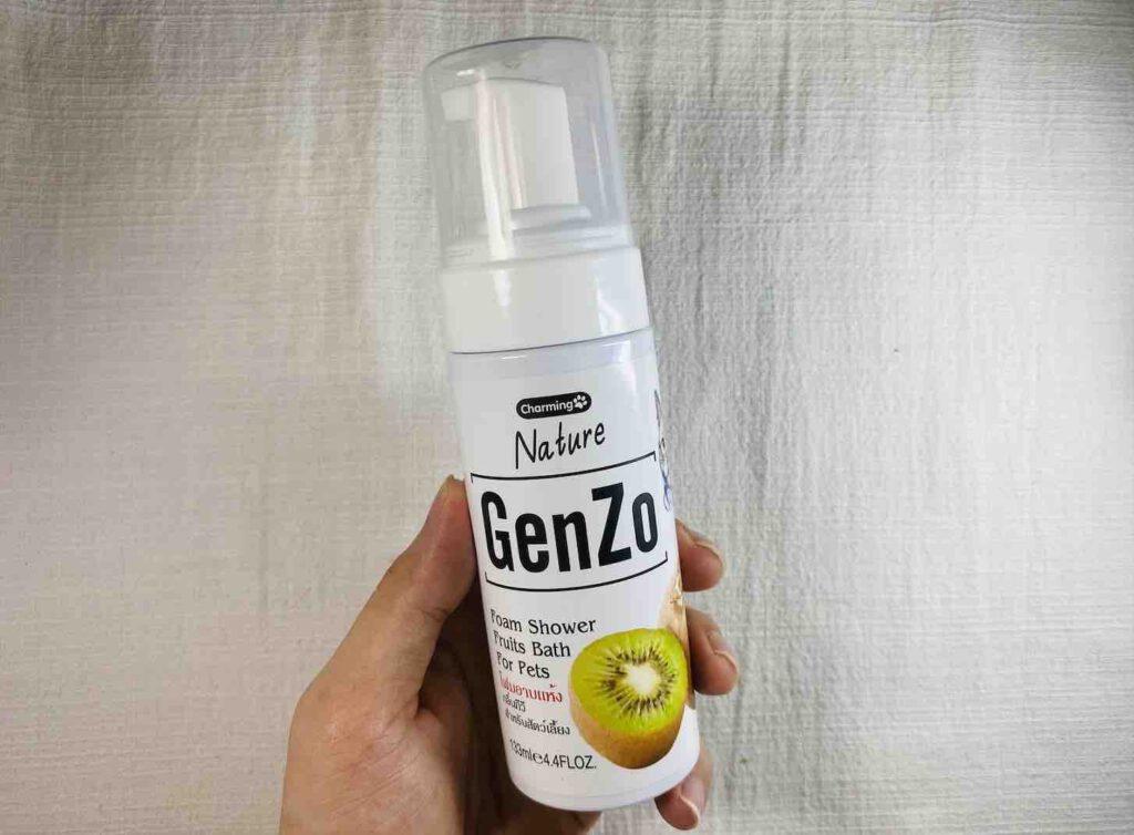 6. แชมพูอาบแห้ง ยี่ห้อ GenZo Nature