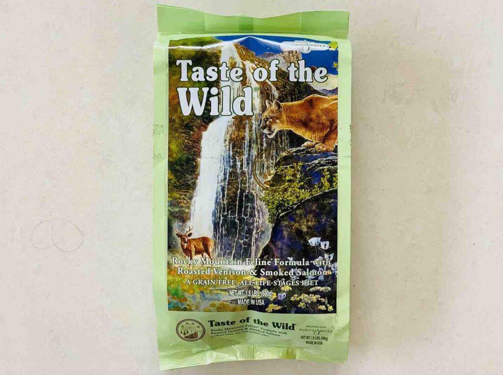 6. อาหารแมว ยี่ห้อ Taste of the wild แบบเม็ด