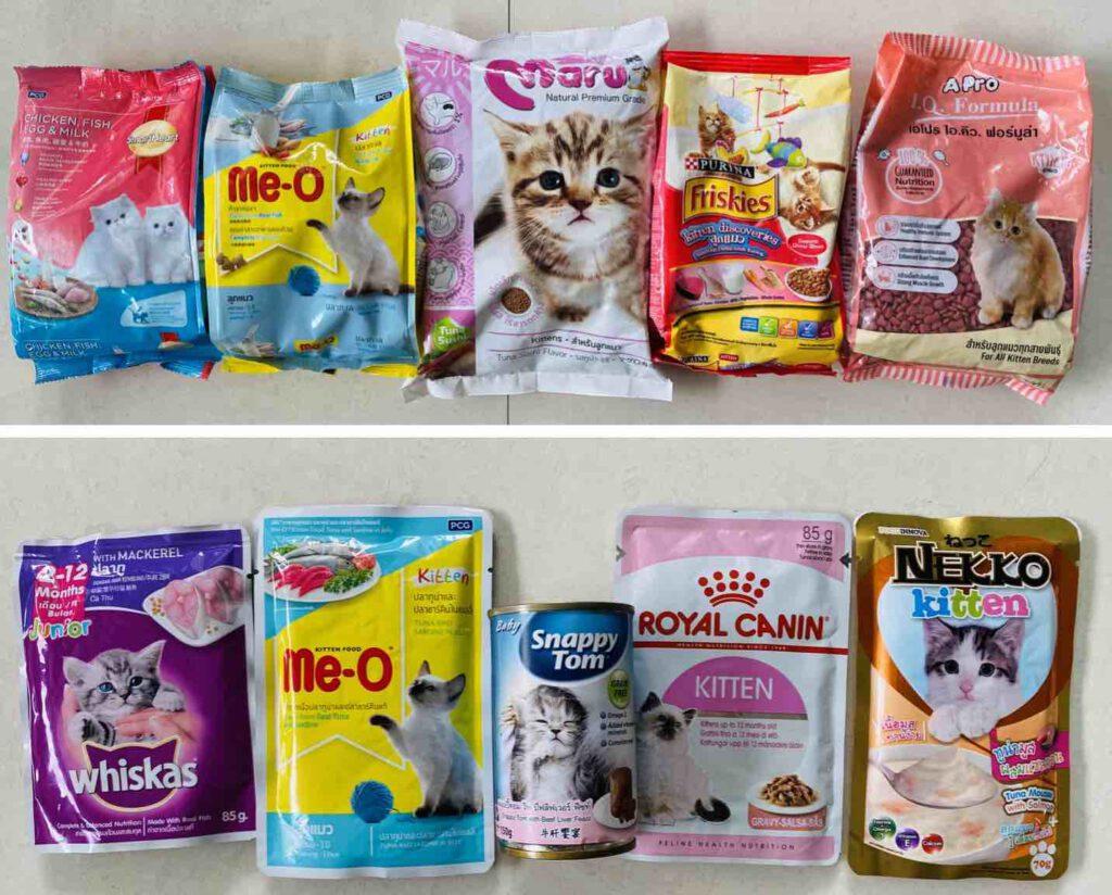 """+ """"อาหารลูกแมว"""" (Kitten Food) ยี่ห้อไหนดี 2021 รีวิว 10 ยี่ห้อ +"""