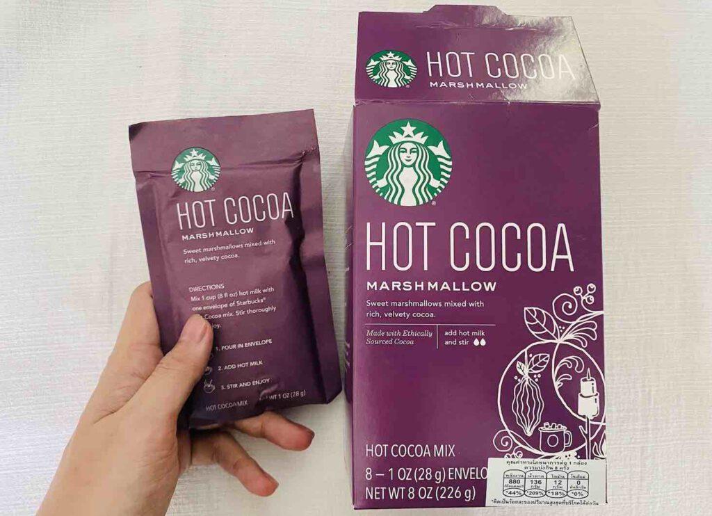 4. ยี่ห้อ Starbucks HOT COCOA MARSMALLOW