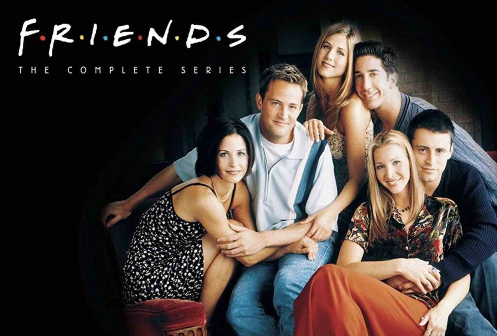 1. ซีรีย์ฝรั่ง แนวตลก ซิทคอม Friends