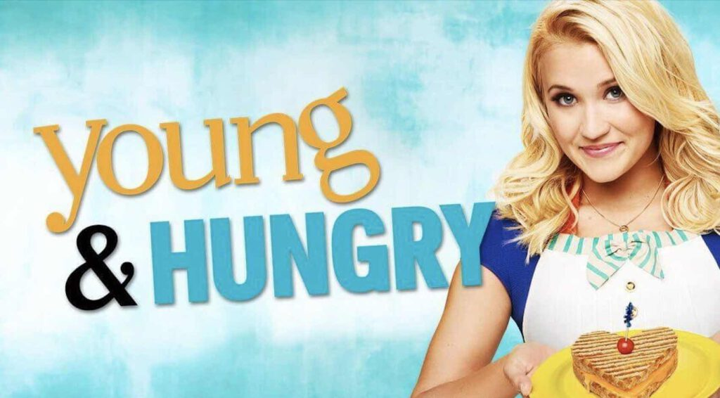 9. ซีรีย์ฝรั่ง แนวตลก ซิทคอม Young & Hungry