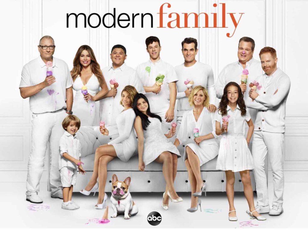 4. Modern Family