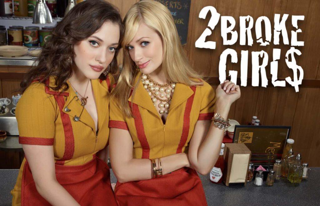 7. ซีรีย์ฝรั่ง แนวตลก ซิทคอม 2 Broke Girls