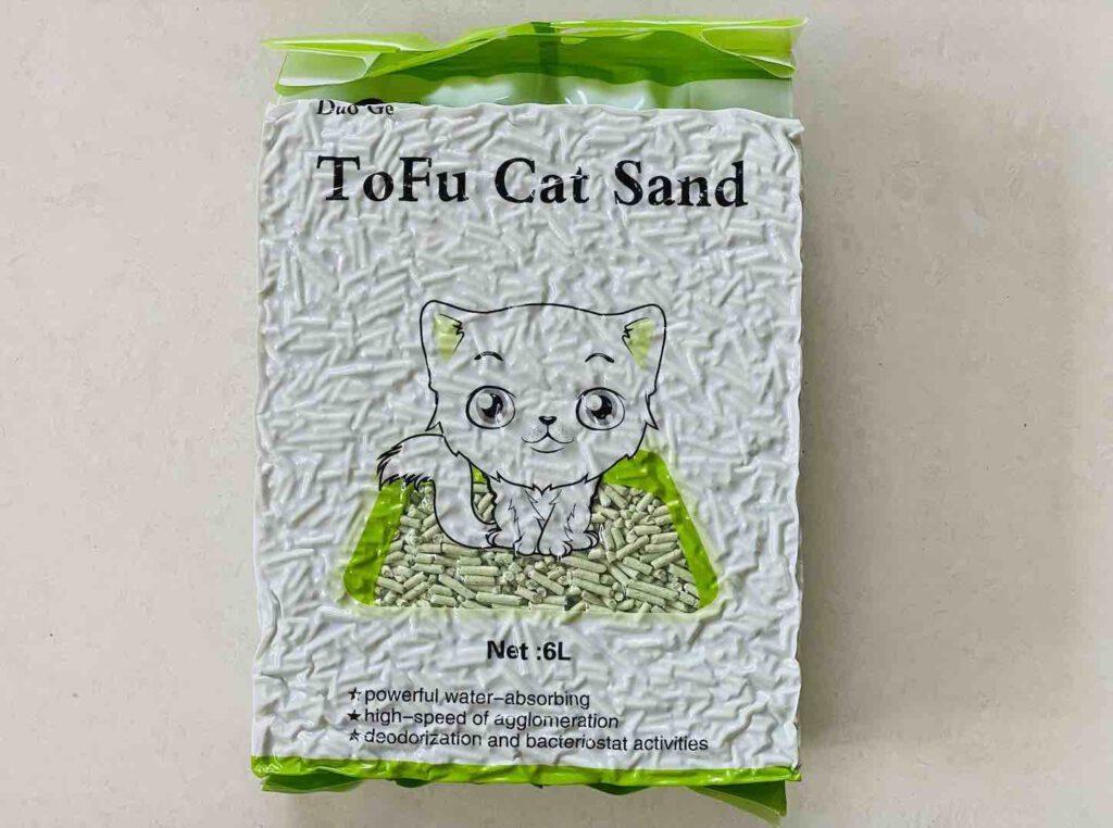 6. ยี่ห้อ Duo Ge ทรายแมวเต้าหู้
