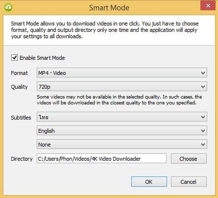 Smart Mode 4K Video Downloader