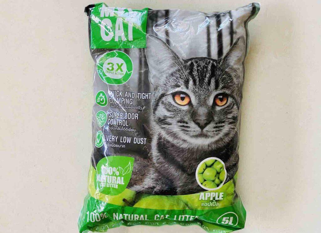 10. ยี่ห้อ MY CAT ทรายแมวเบนโทไนท์