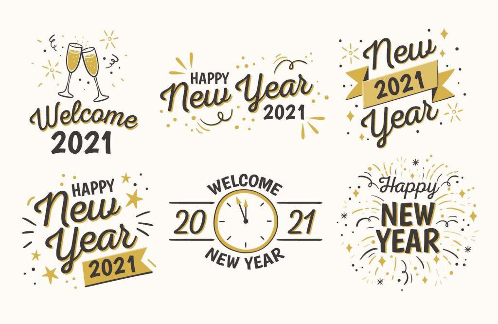 """1. อวยพรปีใหม่ภาษาอังกฤษ """"สั้น ๆ คูล ๆ"""" อวยพรแบบตรงประเด็น ไม่ต้องอ้อมค้อมกันเลย"""