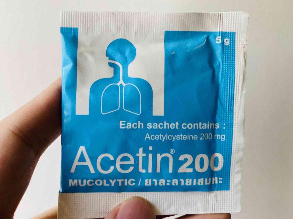 6. ยี่ห้อ Acetin 200