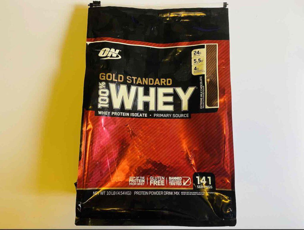 3. เวย์โปรตีน ยี่ห้อ ON สูตร GOLD STANDARD WHEY