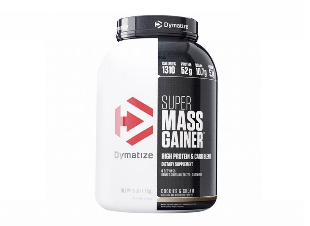 4. โปรตีนเพิ่มน้ำหนัก ยี่ห้อ Dymatize SUPER MASS GAINER