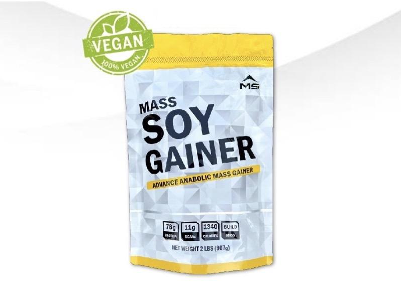2. โปรตีนเพิ่มน้ำหนัก ยี่ห้อ MS MASS SOY GAINER