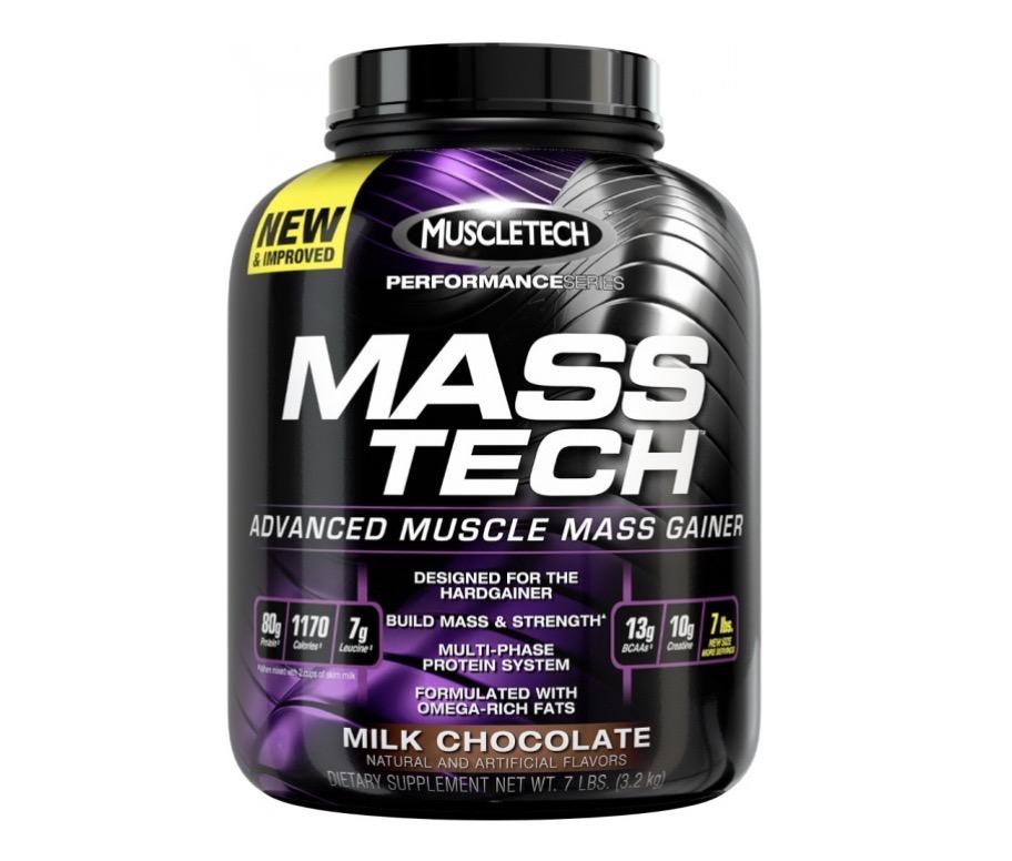 7. เวย์โปรตีนเพิ่มน้ำหนัก ยี่ห้อ MUSCLETECH MASS TECH