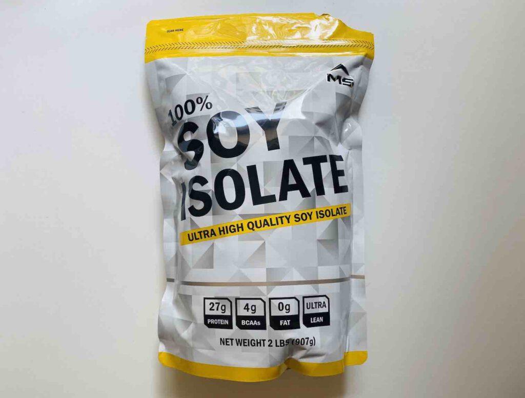1. โปรตีนลดน้ำหนัก เวย์ยี่ห้อ MS SOY ISOLATE