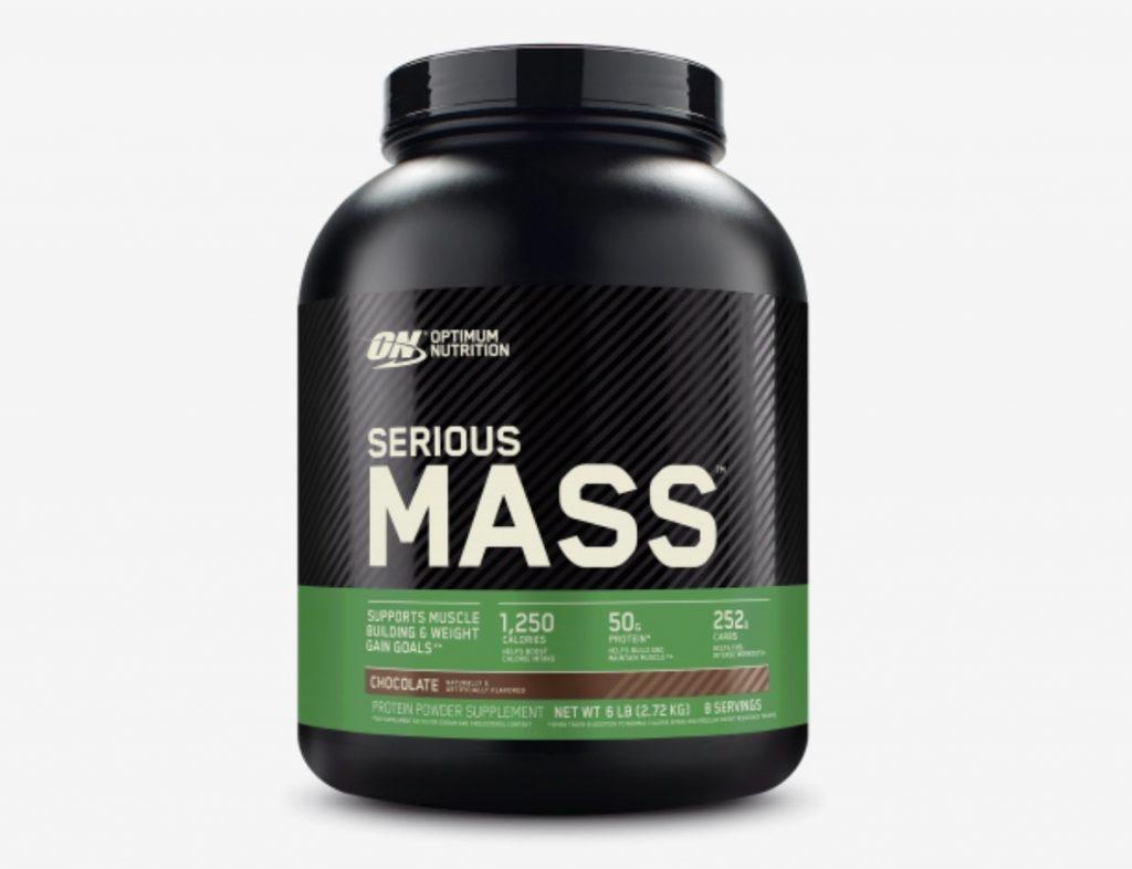 5. เวย์โปรตีนเพิ่มน้ำหนัก ยี่ห้อ Optimum Nutrition SERIOUS MASS