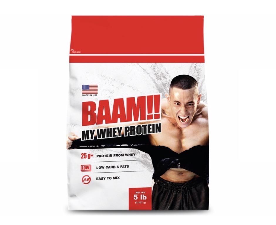 1. BAAM Whey Protein