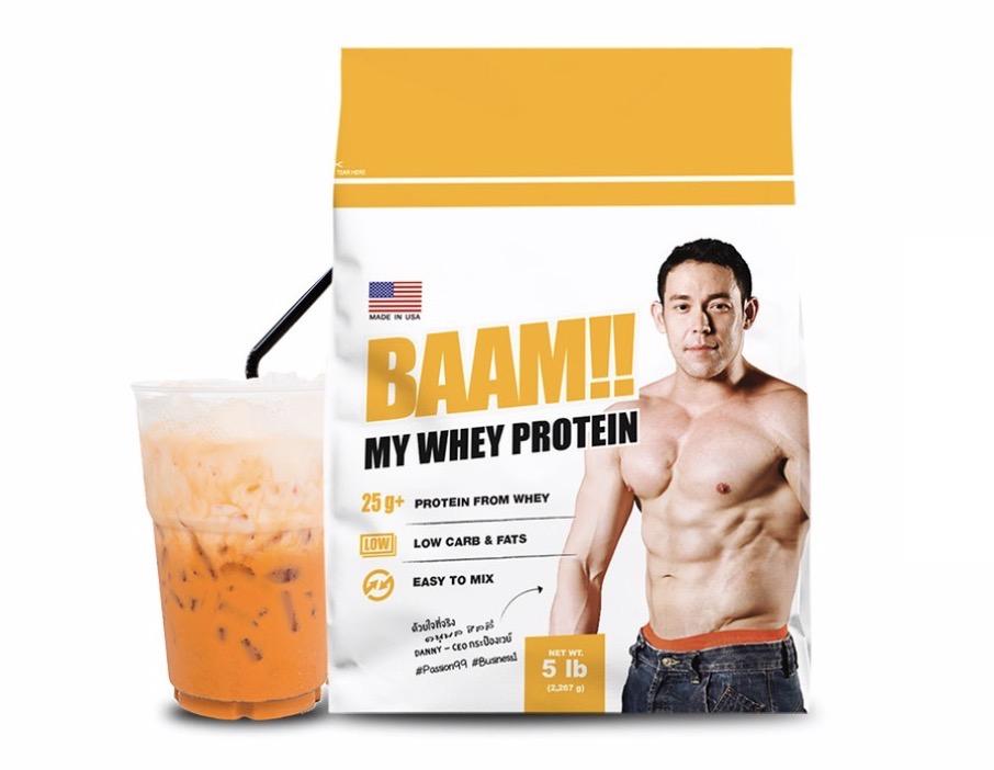 2. BAAM Whey Thai Series