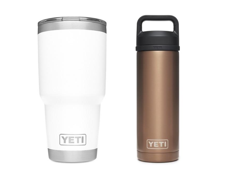 1. แก้วเก็บความเย็น / กระติกเก็บความเย็น ยี่ห้อ YETI