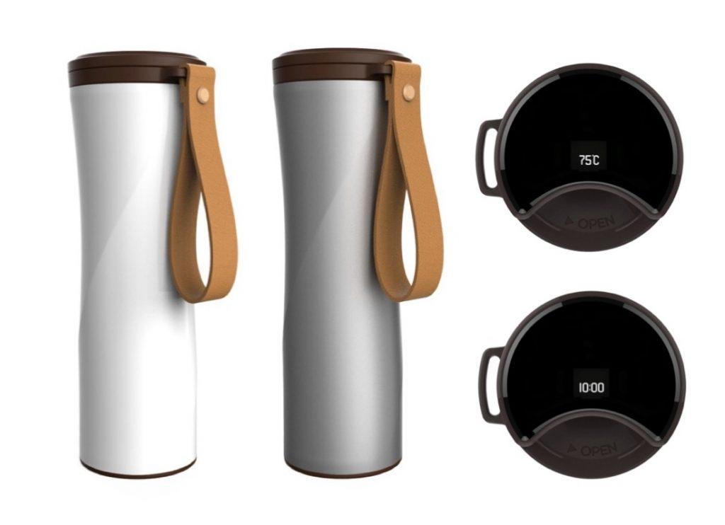 4. กระติกน้ำเก็บความเย็น ยี่ห้อ Xiaomi moka coffee tumbler