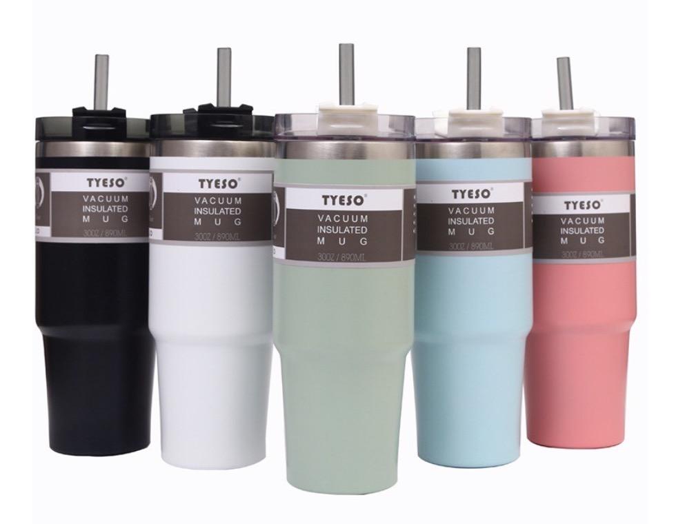 9.  แก้ว Tumbler / กระติกน้ำเก็บความเย็น ยี่ห้อ TYESO