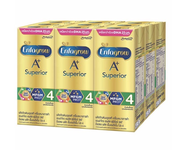 4.2 Enfagrow A+ Superior UHT สูตร 4