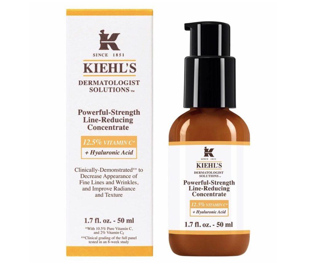 2. ยี่ห้อ Kiehl's 12.5% Powerful-Strength Line-Reducing Concentrate
