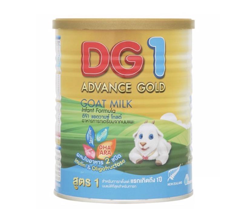 1.2 นมผงเด็กแรกเกิด ยี่ห้อ DG-1 Advance Gold