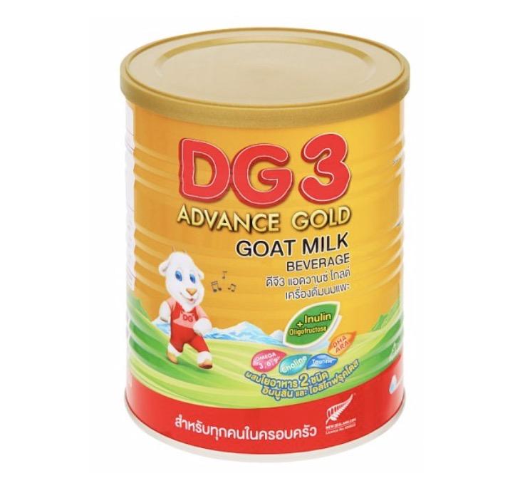 3.2 นมผงสำหรับเด็ก ยี่ห้อ DG-3 Advance Gold สูตร 3