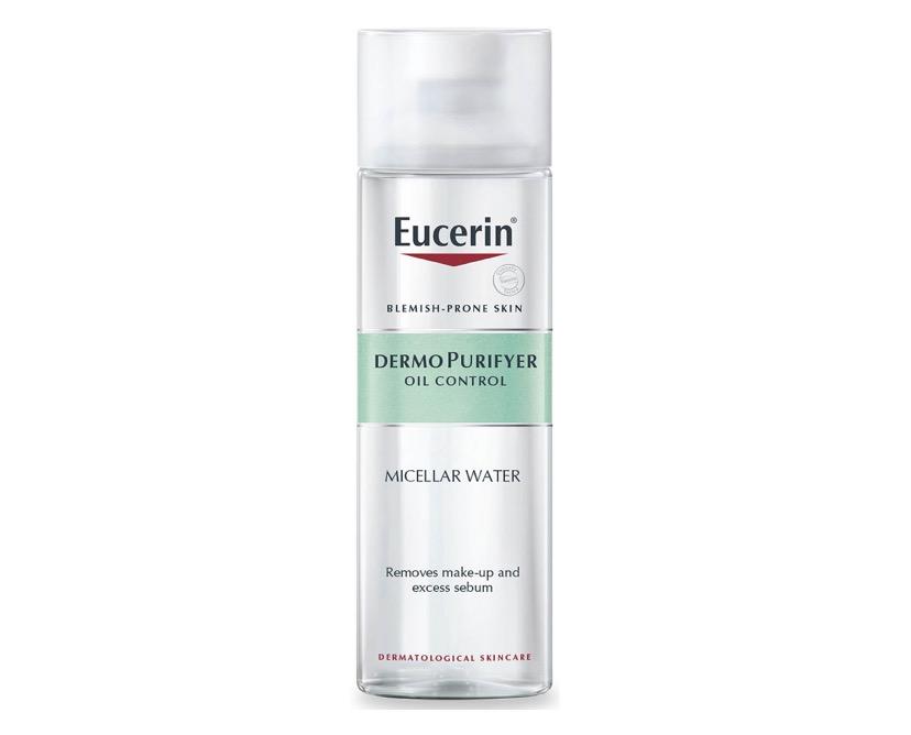 3. คลีนซิ่งลดสิว ยี่ห้อ Eucerin Pro Acne Solution Acne & Make Up Cleansing Water