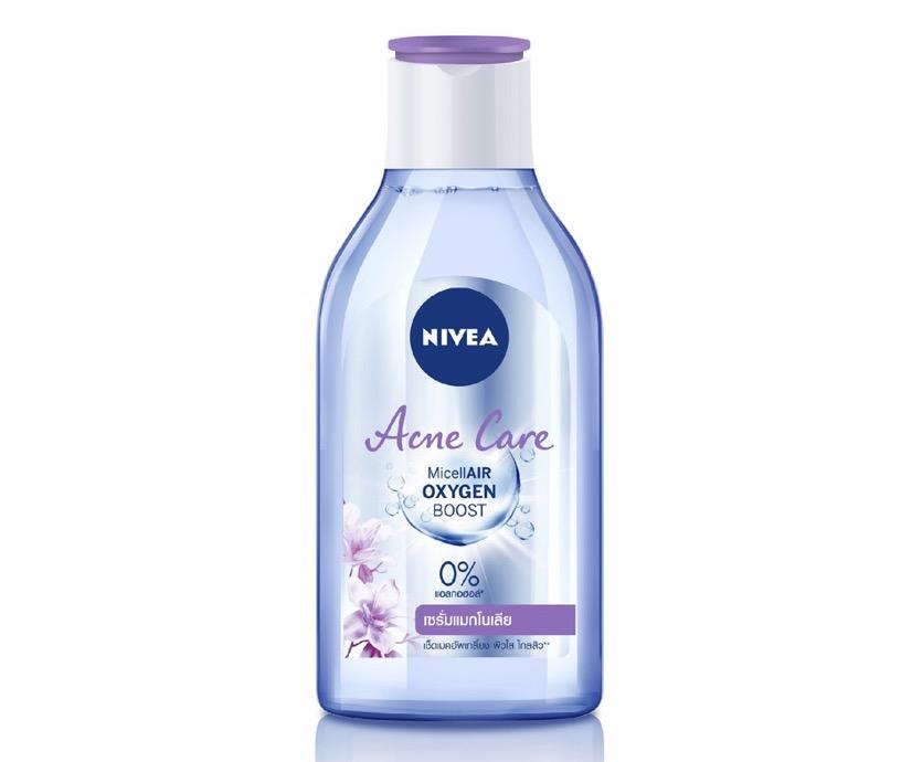 6. ยี่ห้อ NIVEA Acne Care Micellair OXYGEN Boost Micellar Water