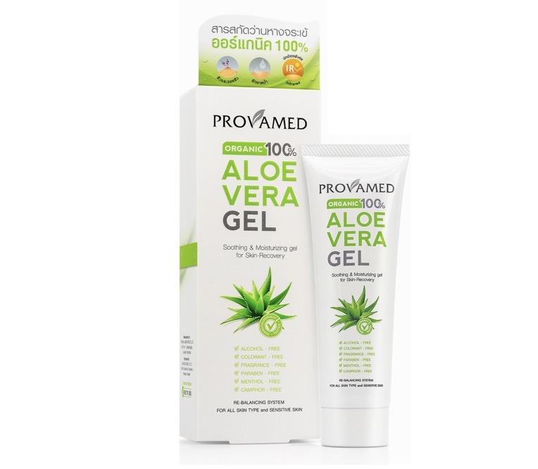 4. ยี่ห้อ Provamed Aloe Vera Gel Organic 100%