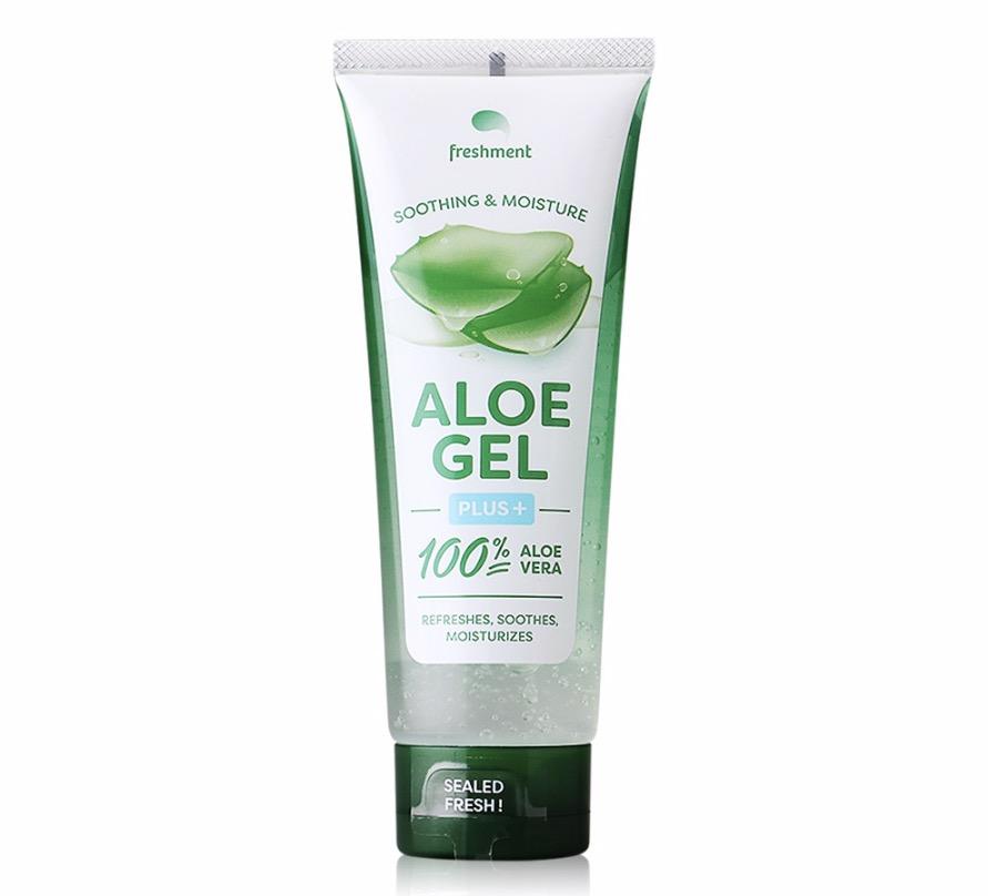 6. ยี่ห้อ Freshment Soothing And Moisture Aloe Gel