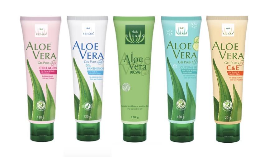 10. ยี่ห้อ Vitara Aloe Vera Gel
