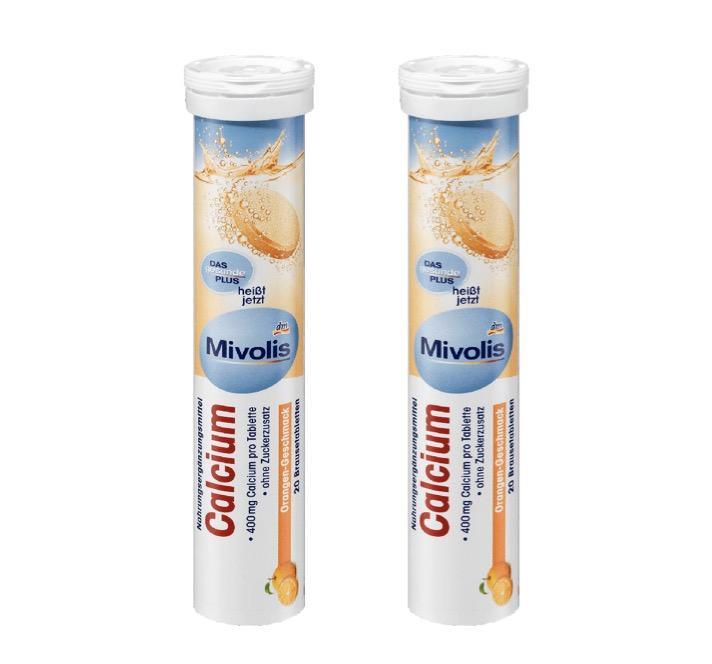 6. อาหารเสริมแคลเซียมเม็ดฟู่ ยี่ห้อ Mivolis DM Calcium
