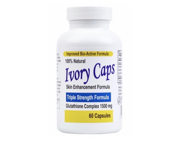 ขอแนะนำยี่ห้อ + Ivory Caps Glutathione Skin Enhancement Formula +
