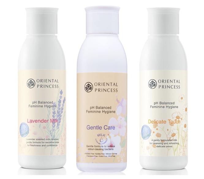 3. ยี่ห้อ Oriental Princess pH Balanced Feminine Hygiene