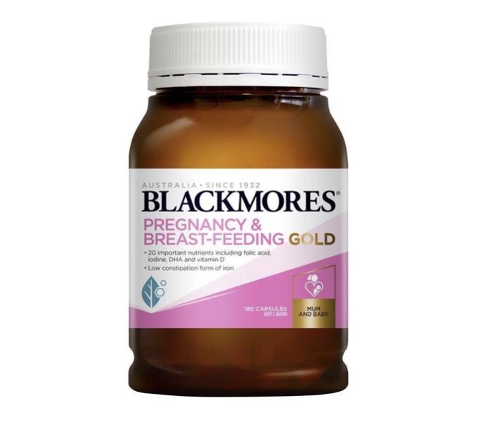 4. ยี่ห้อ Blackmores, Pregnancy & Breast-Feeding gold