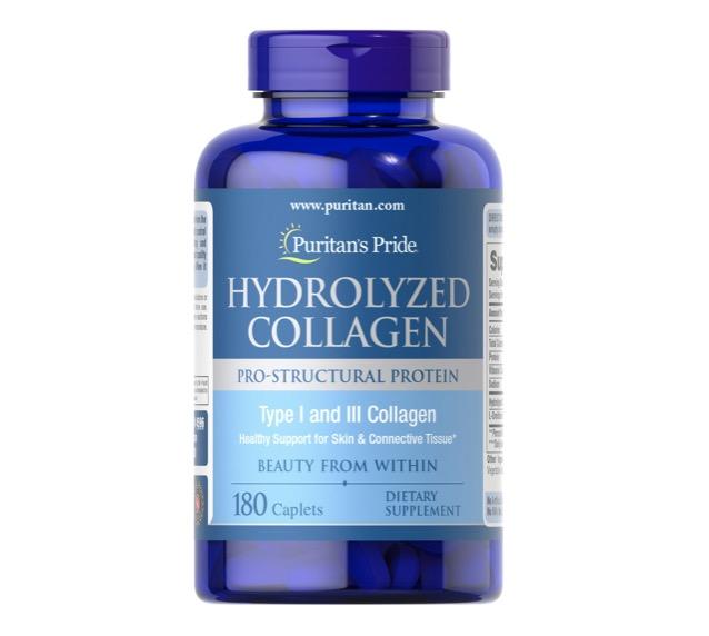 4. ยี่ห้อ Puritan's Pride Hydrolyzed Collagen