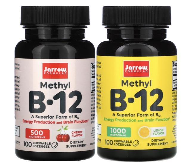 6. ยี่ห้อ Jarrow, Methyl B-12